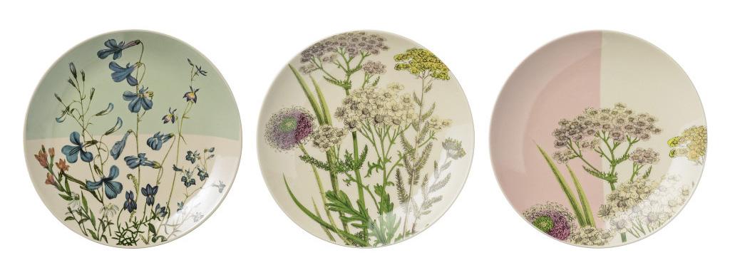 talerze botaniczne