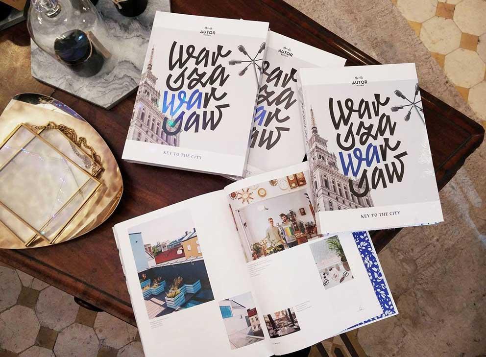 Album Warszawa Warsaw - sklep Look Inside