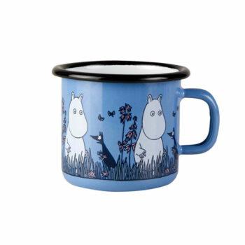 niebieski kubek z muminkiem - moomin friends