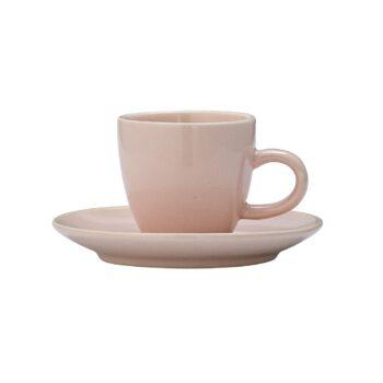 filiżanka na espresso Alberte różowa