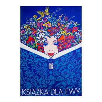 Plakat W. Janowski Książka dla Ewy