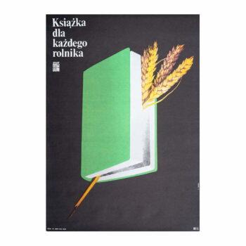 Plakat Ksiązka dla każdego rolnika, porada