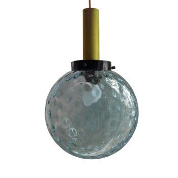 Lampa szklana kula
