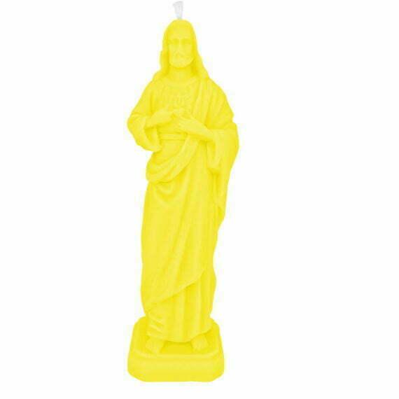 świeczka Jezus La Flamme żółty Duża