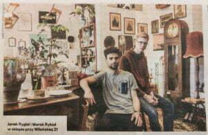 Janek Rygiel i Marek Rykiel w Look Inside, Gazeta Wyborcza 2017