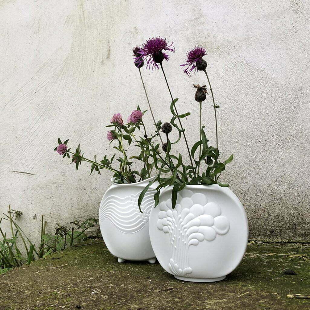 Para biskwitowych wazonów Kaiser
