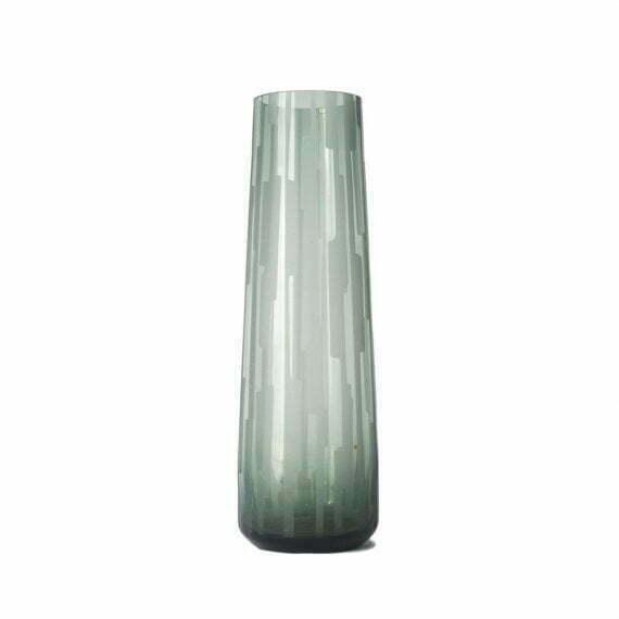 Wazon szklany zielony niemcy