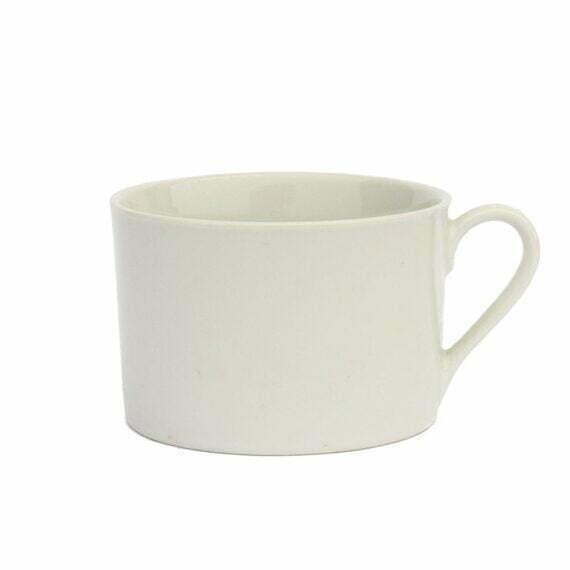 Biały kubek do kawy