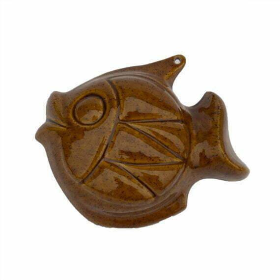 Ceramiczna ryba na ścianę