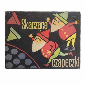 Skaczące Czapeczki - gra z PRL