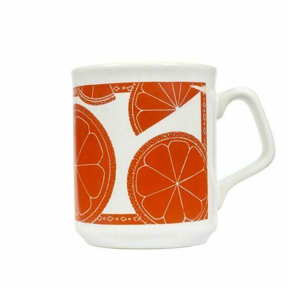 Kubek w pomarańcze