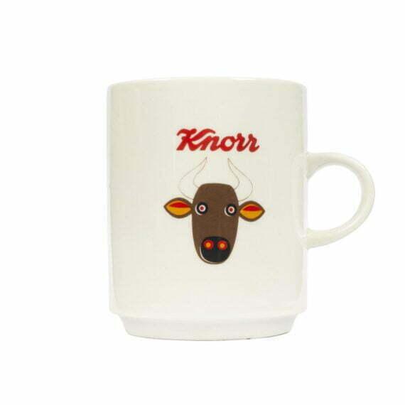 Kubek Knorr z bykiem vintage