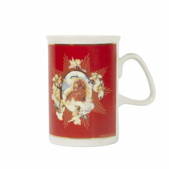 Kubek świąteczny z aniołkiem