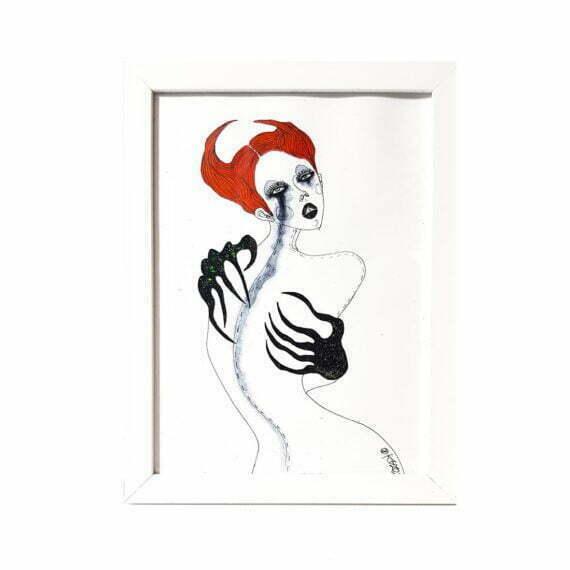 Grafika Out of Fashion, Monika Kozak