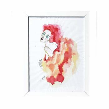 "Grafika ""Venus in furs"", Monika Kozak"