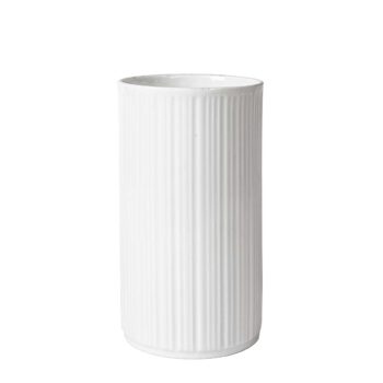 Biały wazon Melitta
