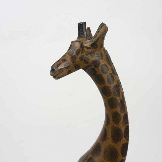 drewniana żyrafa