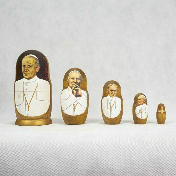 Matrioszka Papież Jan Paweł II