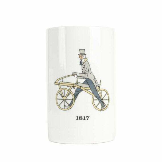 Kubekl Thomas z rowerem